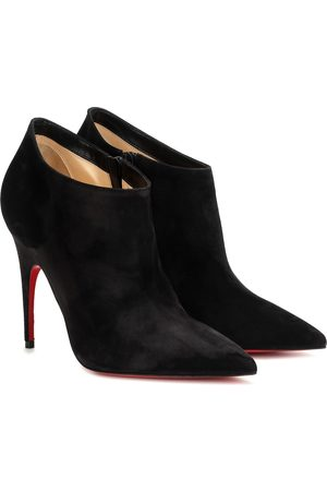Christian Louboutin Gorgona 100 suede ankle boots