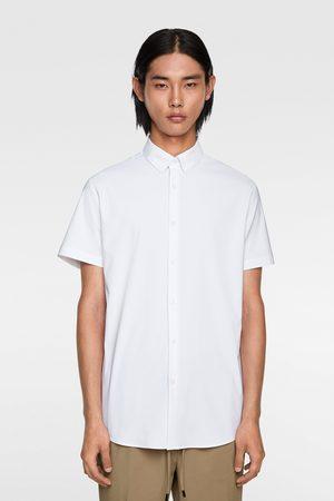 Zara Mężczyzna Z krótkim rękawem - Koszula z krótkim rękawem z kolekcji traveler