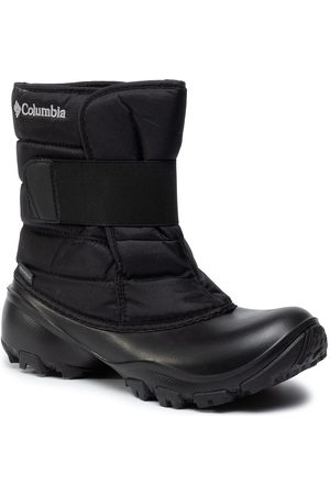 Columbia Śniegowce - Youth Rope Tow Kruser 2 BY1203 Black/ Grey 010