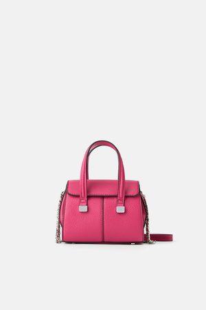 Zara Mini torebka typu shopper
