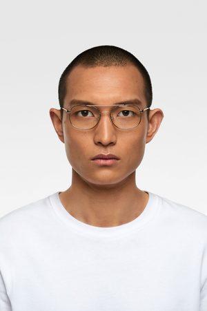 Zara Okulary w metalowej oprawce