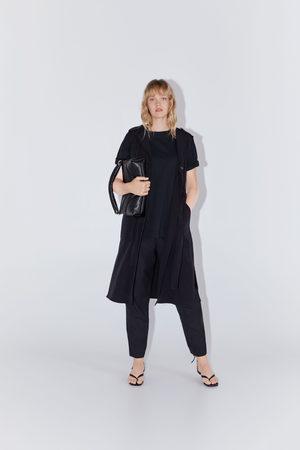 Zara Sukienka o kroju kamizelki z guzikami