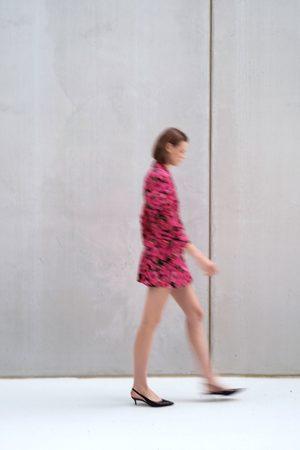 Zara Sukienka o kroju marynarki z nadrukiem w kwiaty