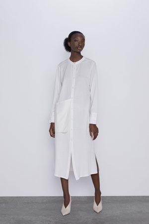 Zara Tunika z kieszenią z boku