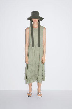 Zara Sukienka z efektem gniecenia