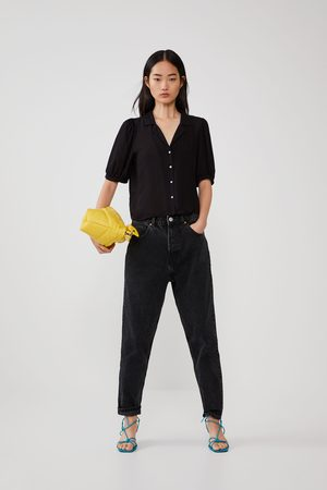 Zara Luźna koszula o szerokim kroju