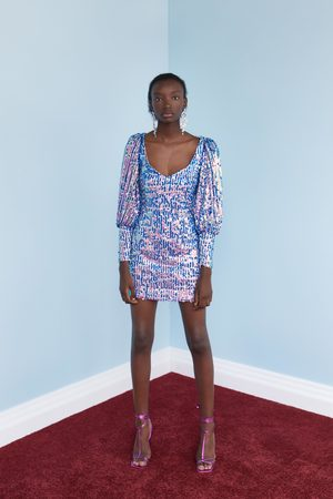 Zara Sukienka mini z cekinami z limitowanej edycji