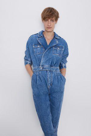Zara Kombinezon '80s arizona blue