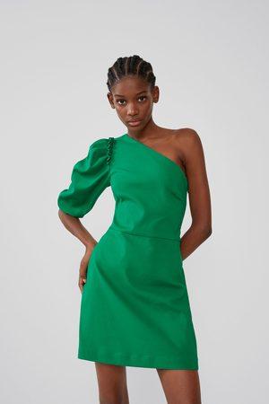 Zara Asymetryczna sukienka