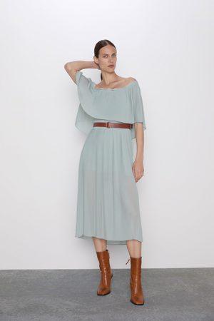 Zara Plisowana sukienka