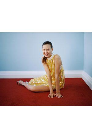 Zara Kobieta Sukienki - Sukienka z cekinami z limitowanej edycji