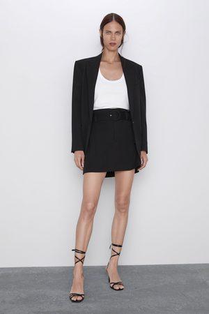 Zara Spódnica mini z paskiem