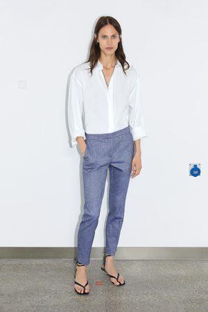 Zara Kobieta Spodnie dresowe - Spodnie joggery