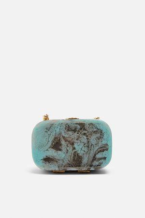 Zara Torebka typu kuferek z tworzywa ze specjalnej edycji