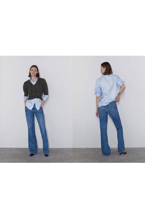 Zara Kobieta Jeansy - Spodnie jeansowe zw premium bootcut true blue