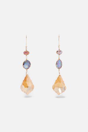Zara Kolczyki z opalizującymi perłami