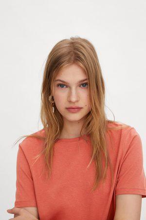 Zara Kobieta Z krótkim rękawem - Koszulka z kolekcji basic