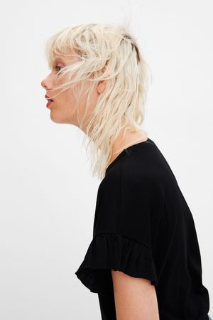 Zara Koszulka z falbankami