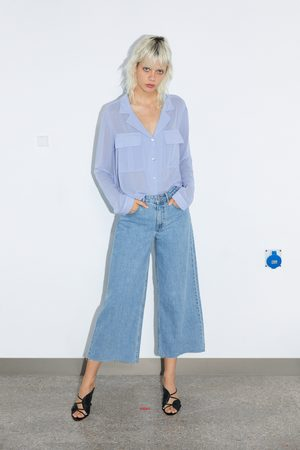 Zara Koszula z kieszeniami
