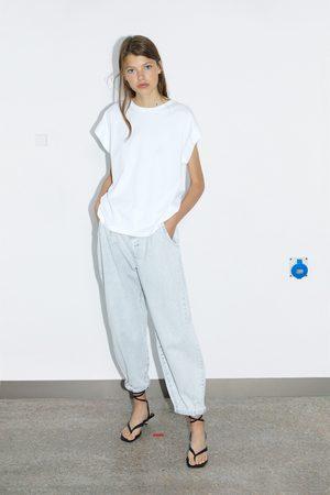 Zara Koszulka z kolekcji basic