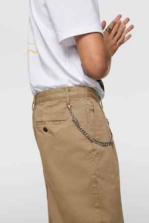 Zara Spodnie chinosy w stylu lat 80-tych