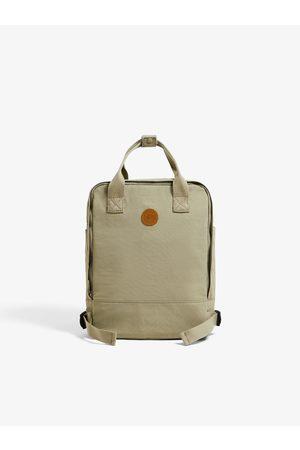 Zara Tekstylny plecak w neutralnym odcieniu