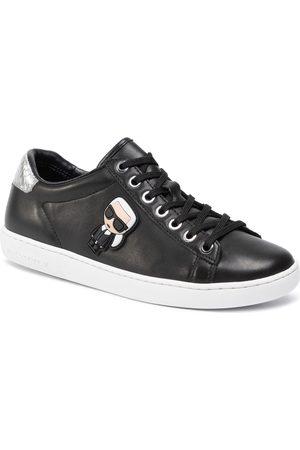 Karl Lagerfeld Sneakersy - KL61230 Black Lthr