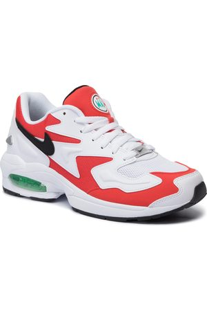Nike Buty - Air Max2 Light AO1741 101 White/Black/Habanero Red