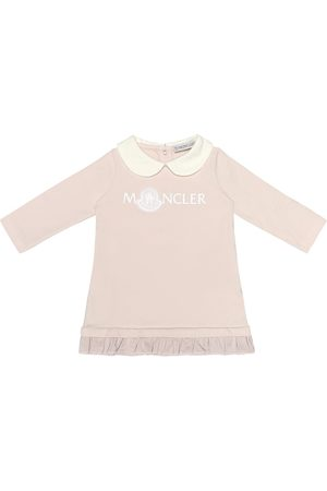 Moncler Baby stretch-cotton jersey dress