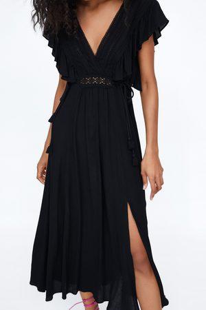 Zara Sukienka z koronki
