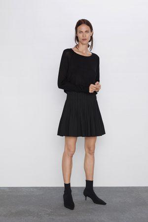 Zara Plisowana spódnica mini