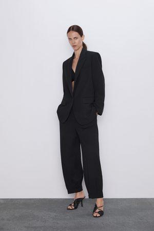 Zara Spodnie z zaszewkami