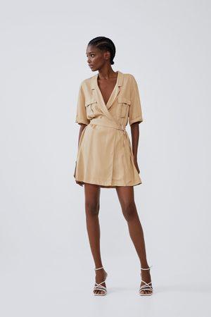 Zara Sukienka z kieszeniami