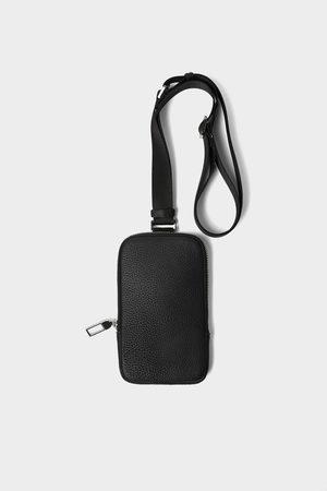 Zara Czarne etui na telefon komórkowy w stylu sportowym