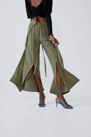 Zara Spodnie typu pareo z wiązaniem