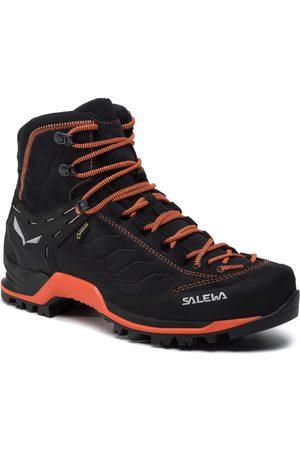 Salewa Trekkingi - Mtn Trainer Mid Gtx GORE-TEX 63458-0985 Asphalt/Fluo Orange