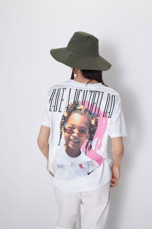 Zara Koszulka z nadrukiem