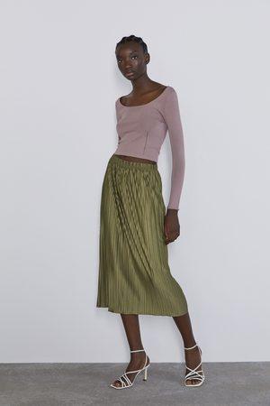 Zara Plisowana spódnica