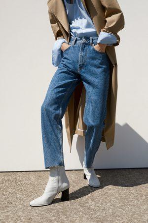 Zara Spodnie jeansowe zw premium the slim straight