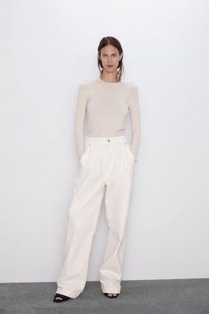 Zara Sweter z długimi rękawami z kolekcji basic