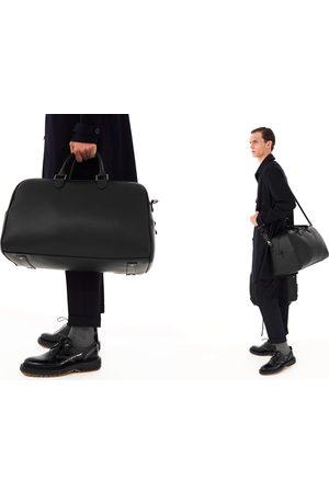 Zara Czarna torba typu bowling z kolekcji basic