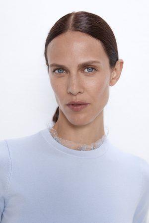 Zara Sweter ze wstawkami z tiulu
