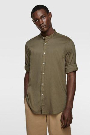 Zara Koszula z podpinanymi rękawami