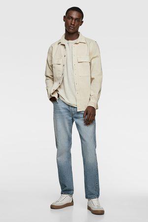 Zara Mężczyzna Z krótkim rękawem - Koszulka z kieszenią
