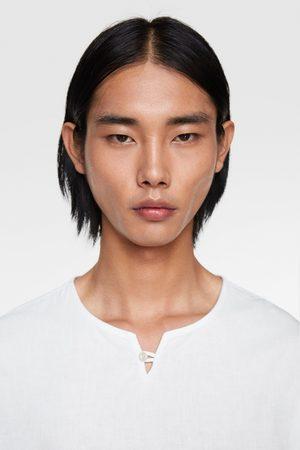 Zara Mężczyzna Koszule - Koszula w stylu rustykalnej o luźnym kroju