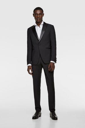 Zara Mężczyzna Spodnie - Spodnie smokingowe