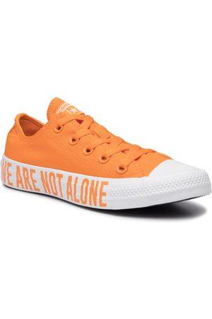Converse Trampki - Ctas Ox 165385C Orange Rind/White/White
