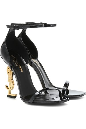 Saint Laurent Kobieta Sandały - Opyum 110 patent leather sandals