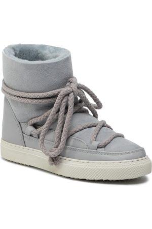 INUIKII Kobieta Kozaki - Buty - Sneaker Classic 70202-5 Light Grey