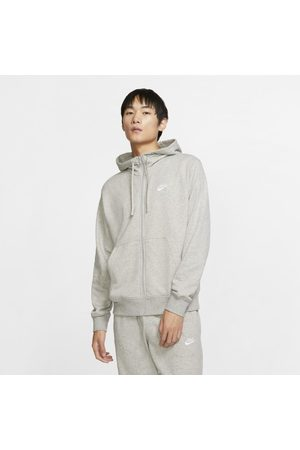 Nike Męska bluza z kapturem i zamkiem na całej długości Sportswear Club